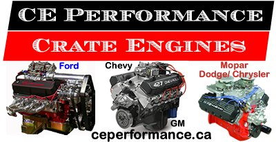 Crate Engines Performance - affordable, top quality, high horsepower crate engines for Ford, Dodge and Chevrolet cars and trucks.