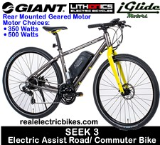 2015 Giant Seek 3 electric road/ commuter bike